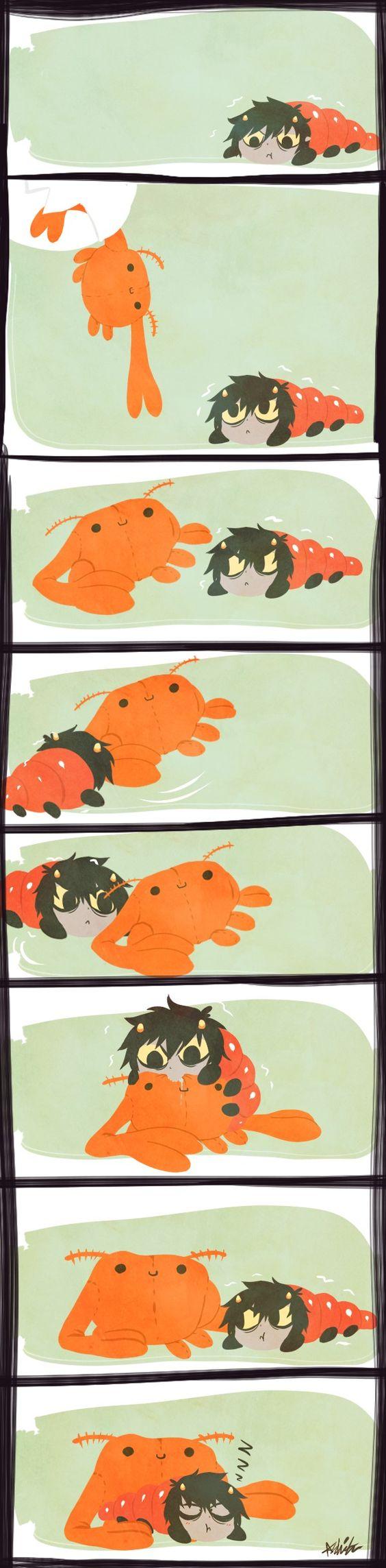 Homestuck Karkat Vantas grub and Crabdad