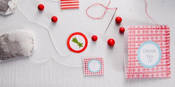 Gift tea bags