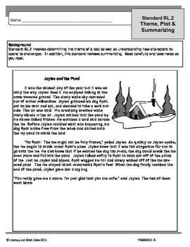 Worksheet Summary Worksheets 5th Grade the ojays common cores and to on pinterest core grade 5 theme plot summarizing worksheets rl 2