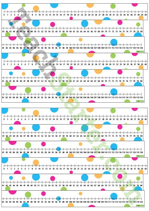 Number Line – 0-120 Teaching Resource