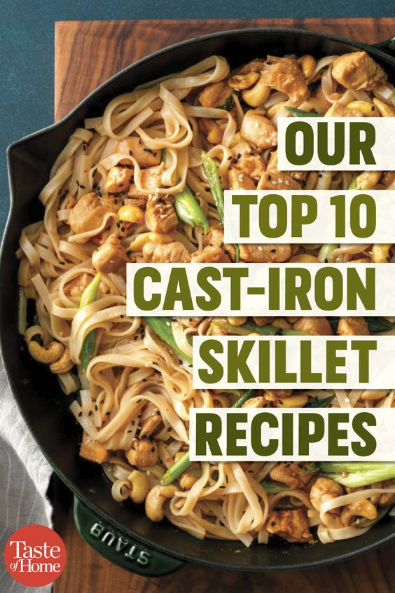Our Top 10 Cast-Iron Skillet Recipes