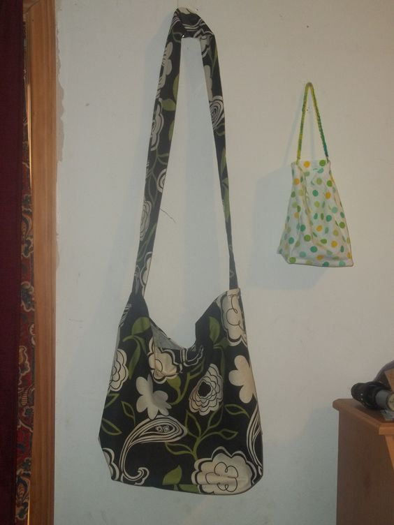 The Big one is my giant tote and the small one is just a throw bag for the headbands so I dont loose them.