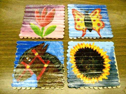 Popsicle stick art projects popsicle sticks make for Popsicle sticks arts and crafts ideas