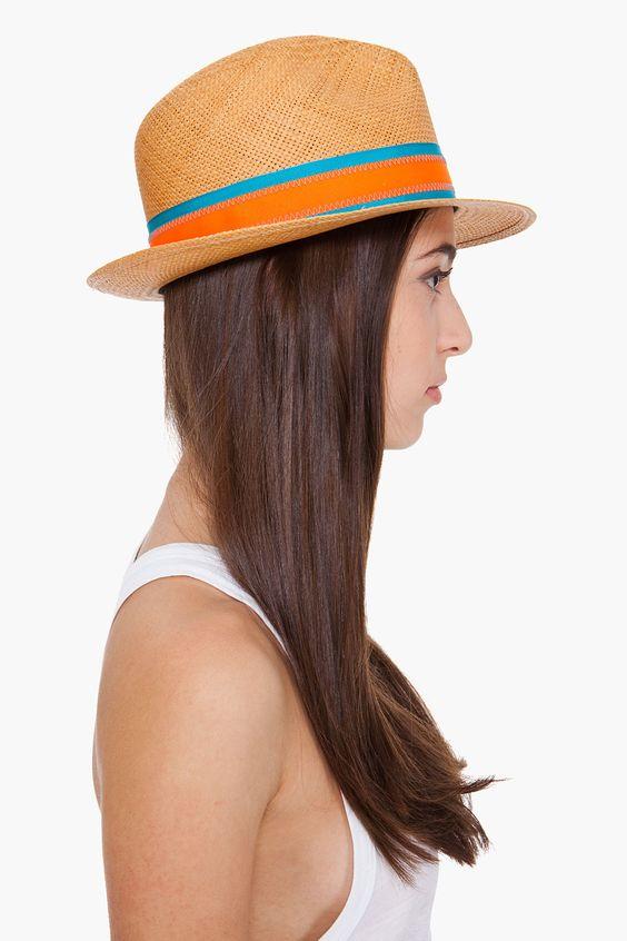 Tan Bristol fedora hat