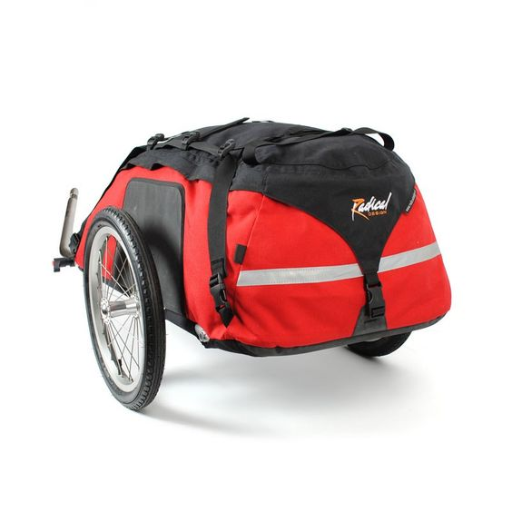 Cyclone IV Trekking Bicycle Trailer. With multiple awards for best heavy duty cycling trailer the nr'1 choice for serious cyclists.