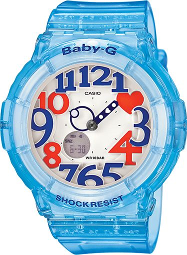 Baby G-Shock Blue Resin band