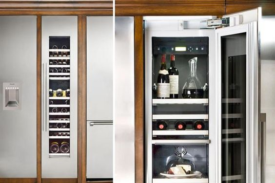 thermador wine column things we like pinterest. Black Bedroom Furniture Sets. Home Design Ideas