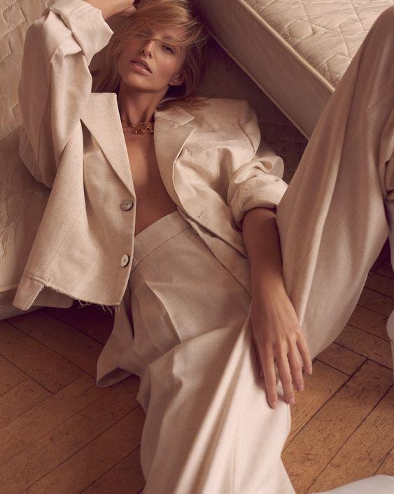 Photography: Andreas Ortner. Styled by: Jana Kapounová. Hair: Martin Tyl. Makeup: Hristina Georgievska. Model: Michaela Kocianova.