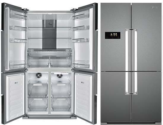 Frigidaire By Electrolux Frs910ss Bottom Mount French 4 Door Refrigerator 220 240 Volt 50 Hz Not For Usa Refrigerator Updated Kitchen Kitchen Doors
