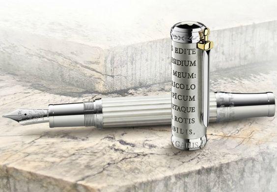 Montblanc Patron of Art Gaius Maecenas limited edition fountain pen.
