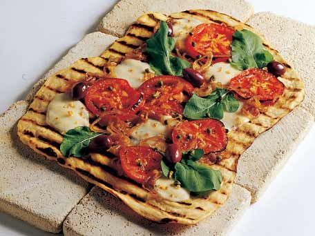 Grilled Pizza -- the dough recipe and cooking method I use.
