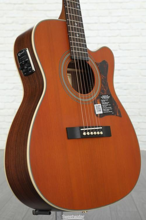 Epiphone Inspired By Gibson J 200 Acoustic Guitar Aged Vintage Sunburst Gloss Epiphone Guitar Acoustic Guitar