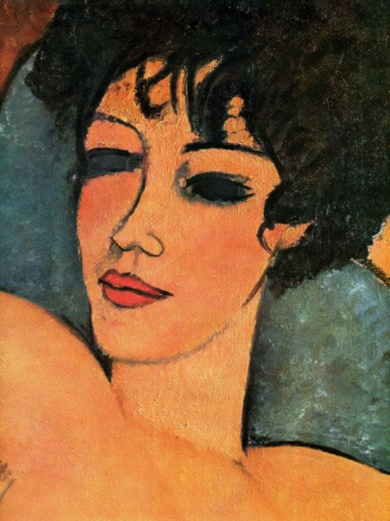 Amedeo Modigliani. Nudo disteso.