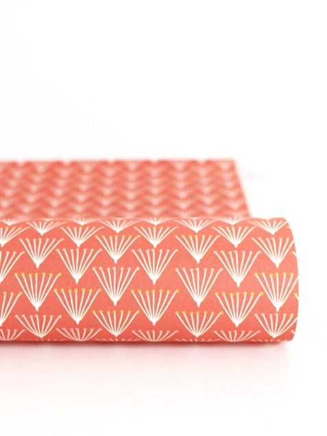 red patterned wrapping paper by Ava&Yves