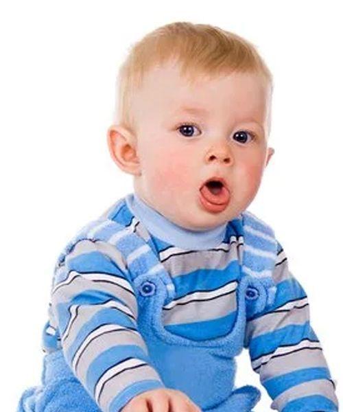 bebe 4 meses tos con flema