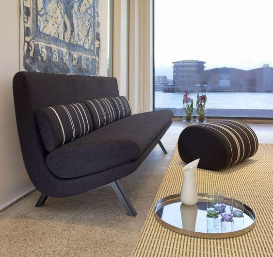 In Duplo Sofas by Anne-Mette Jensen & Morten Ernst. Anne-Mette Jensen and Morten Ernst have designed the In Duplo sofa series for the Danish furniture manufacturer Erik Jørgensen.