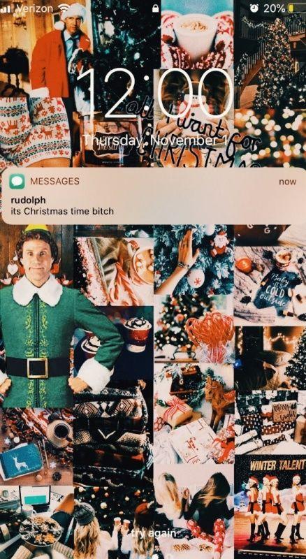 Vsco Relatablegirl Christmas Collage Christmas Time