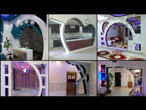 احدث اقواس جبس2020 روعه افضل تشطيب اقواس جبس بورد ارجات جبس بلدى مودرن2020 Arch Gypsum Catalog Yout Arch Designs For Hall Open House Plans Pop Ceiling Design