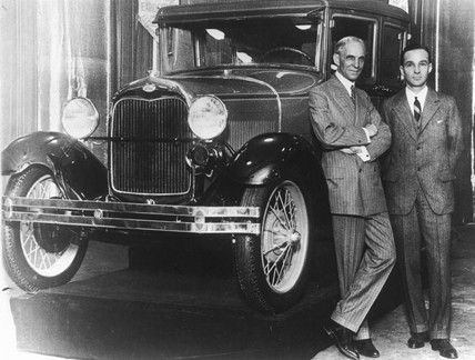 What was Henry Ford's contribution to automobiles?