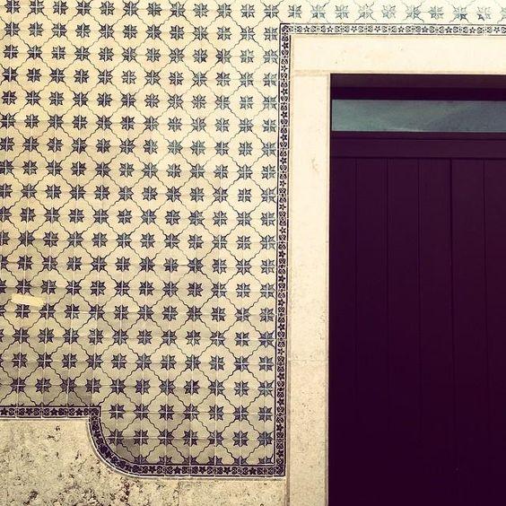 #alfama #tiles in #lisbon