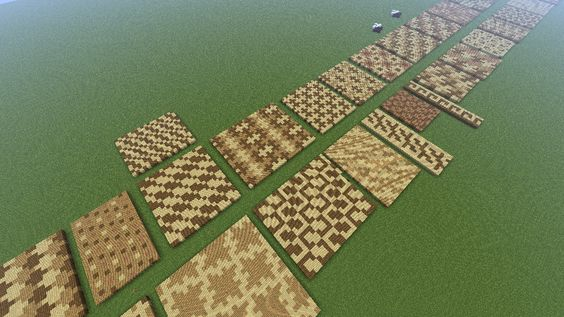 minecraft.ceiling.light ideas - Interesting patterns to decorate floors ceilings roads
