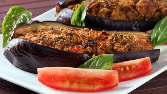 Une recette d'aubergines japonaises farcies présentée sur Zeste et Zeste.tv