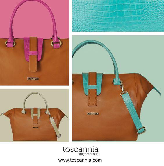 MILANO COLLECTION by Toscannia. Natural color leather handbags with handles and details available in customized colors. Your new 24 Hour bag!http://www.toscannia.com/leather-bags  Descubre la nueva colección MILANO de Toscannia, bolsos de piel con asa, detalles y bandolera extraible customizable en diferentes colores de piel. http://www.toscannia.com/bolsos-piel