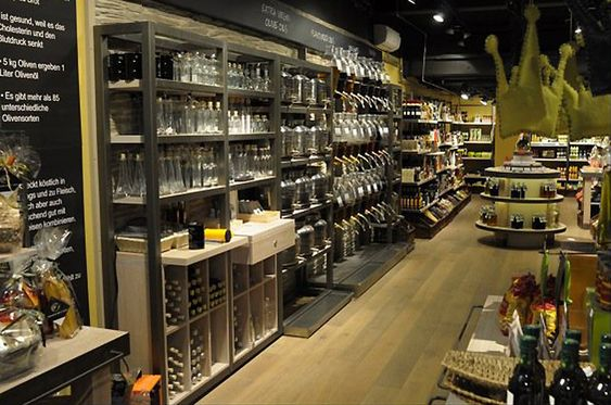Oil & Vinegar store by Terry Moore Design Asheville North