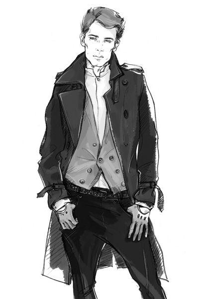 Men fashion illustration - photo#20