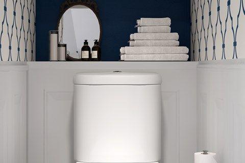 Small Is Beautiful Small Bathroom Ideas Kohler Small Bathroom Decor Small Bathroom Diy Bathroom Decor