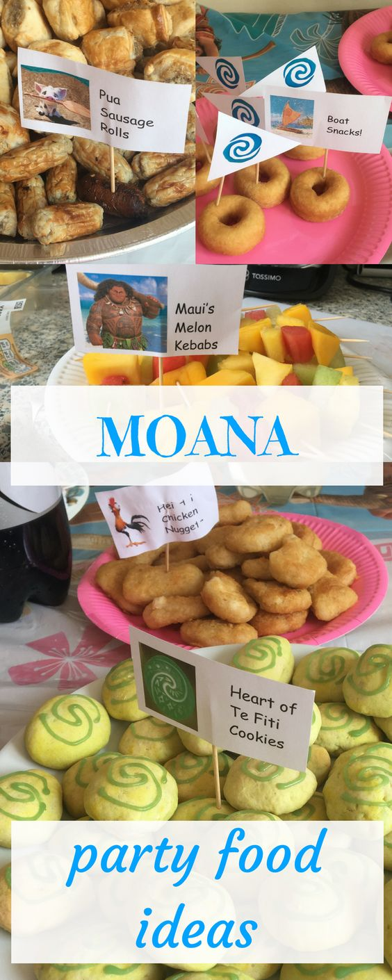 Looking for some awesome Moana party food ideas? Look no further!