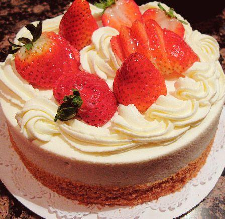 Cake strawberry
