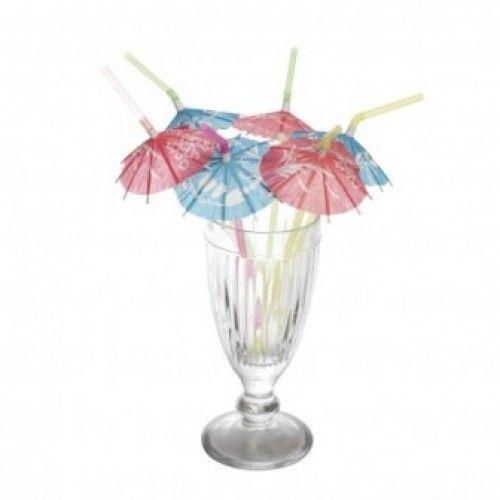 Rietjes met parasolletje