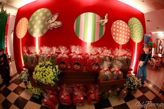 festa chapeuzinho vermelho chique - Pesquisa Google