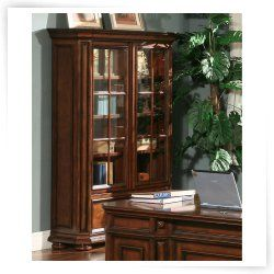Riverside Cantata Windowpane Bookcase with Doors Price: $1,884.99   Save 8% Free Shipping  @ Hayneedle.com