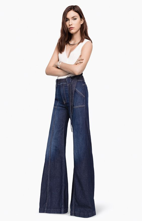 7forallmankind Belted Palazzo