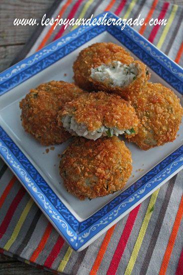 Croquettes de riz au fromage faciles