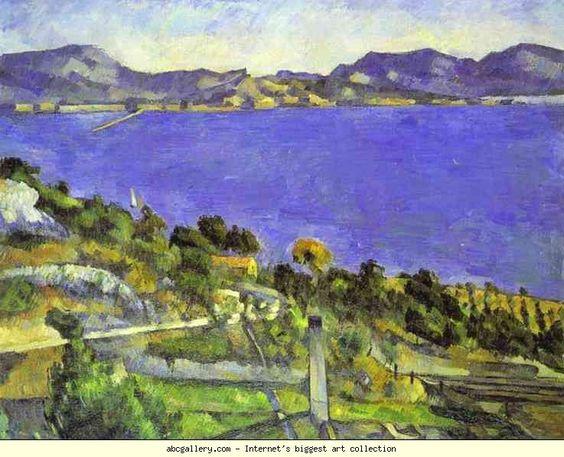 Paul Cézanne. L'Estaque. Olga's Gallery.