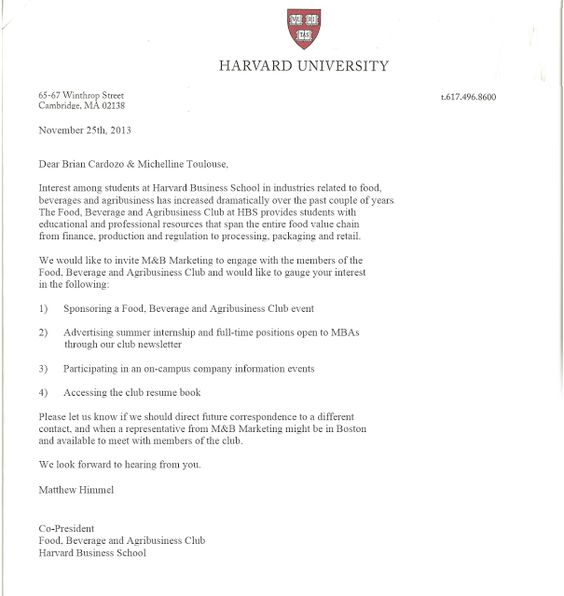 Harvard Invitation Letter To A Friend Of Mine Florida Business - Sample Invitation Letter