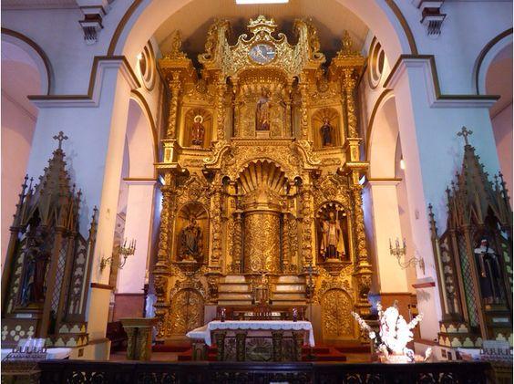 Nosotros visitamos la Iglesia de San Jose en Panama.