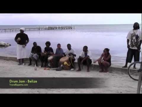 Where to hear true Caribbean Drumming on the beach!