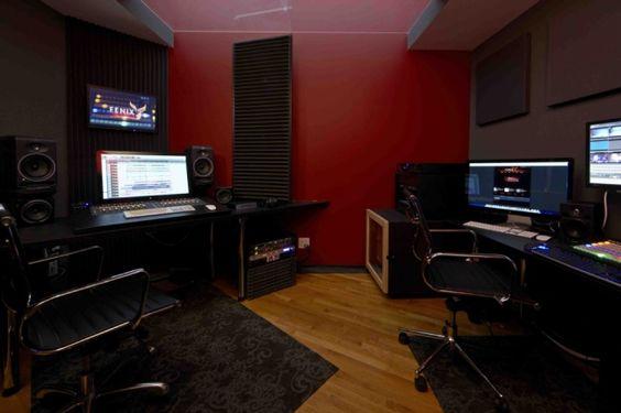Control Room, Fenix Club, San Rafael, CA Photographer: John Merkl
