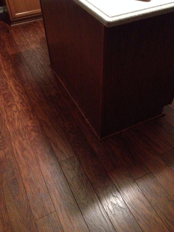 Highland Hickory Pergo In Our Kitchen Pergo Floors Pinterest I