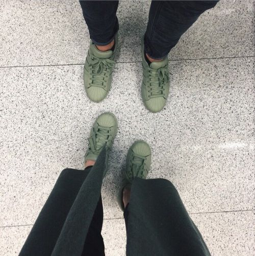 Image de adidas, green, and shoes