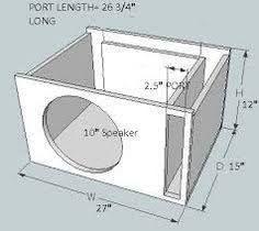 Resultado De Imagen De Diy Subwoofer Box Design Subwoofer Diy Planos De Altavoces Audio De Automoviles