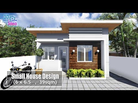 20 Small House Design 6x6 5 Meters Youtube Small House Design Small House Design 3d Small House Layout