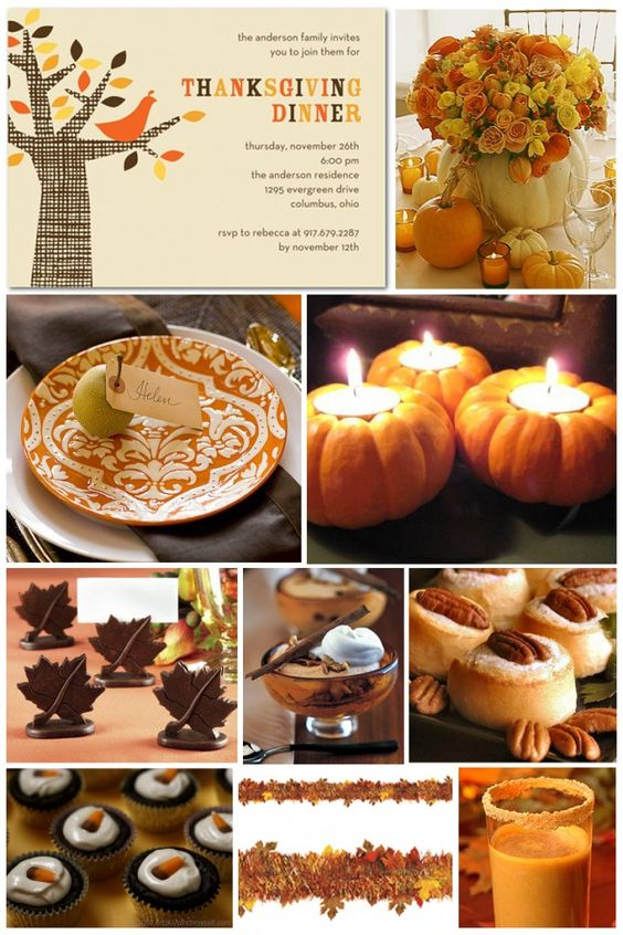 Thanksgiving Inspiration Board