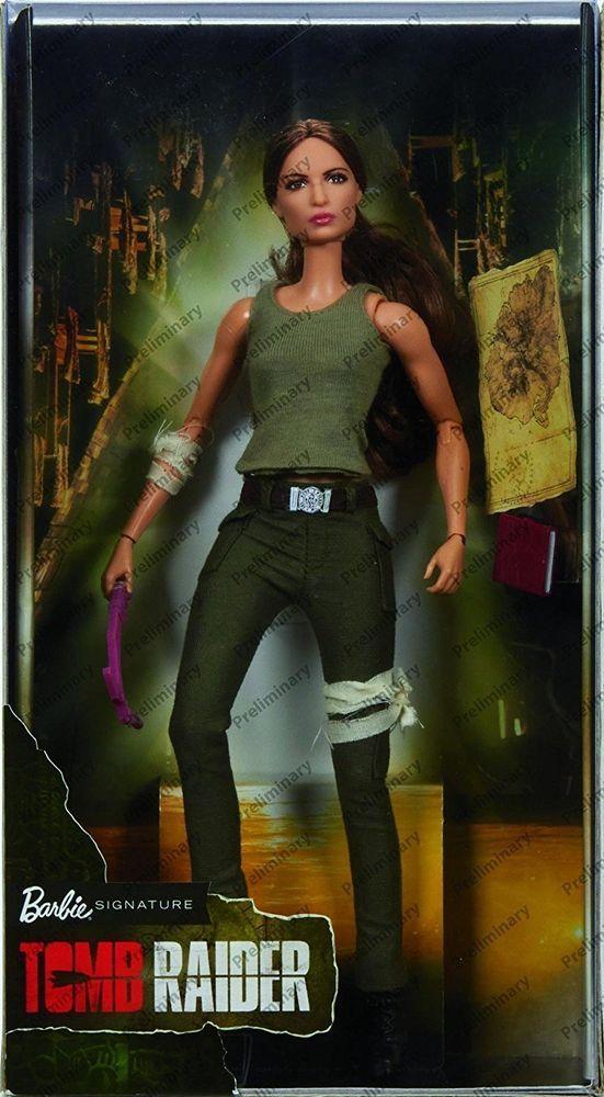 Tomb Raider Movie Barbie Lara Croft Doll