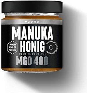 Manuka Honig 400 Mgo In Hochwertigem Glas Direkt Vom Imker Aus Neuseeland Zeig Beauty Aus Beauty Direkt Glas Manuka Honig Honig Babynahrung
