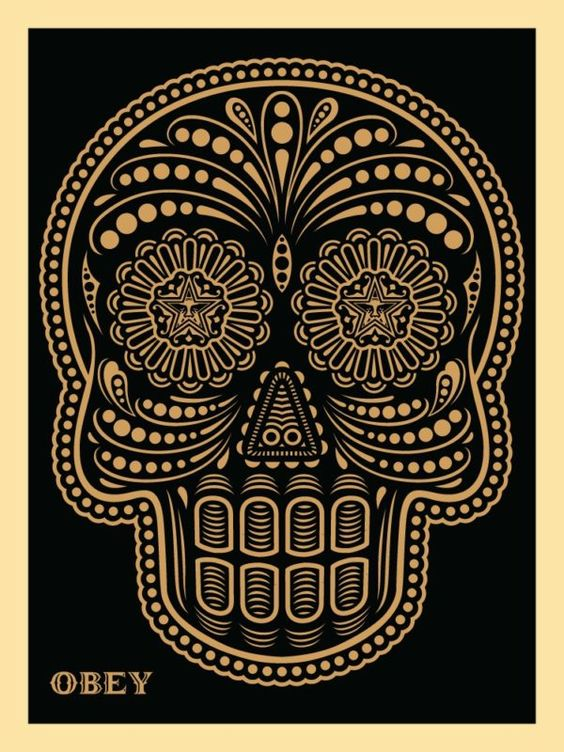 SHEPARD X ERNESTO YERENA: OBEY DAY OF THE DEAD